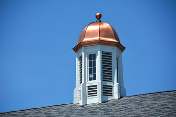 Cupola on top of Elementary